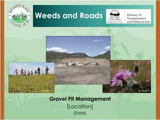 Gravel Pit Management [Location] [Date]