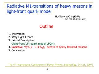 Radiative M1-transitions of heavy mesons in light-front quark model