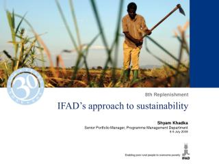 IFAD's approach to sustainability