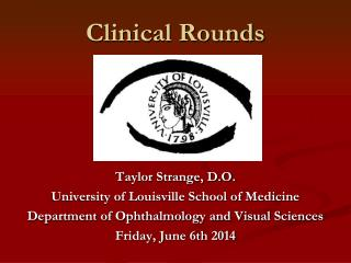 Clinical Rounds