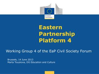 Eastern  Partnership Platform  4