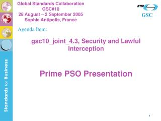 gsc10\_joint\_4.3, Security and Lawful Interception
