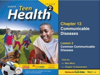 Chapter 13 Communicable Diseases