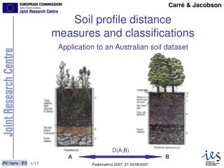 Soil profile distance measures and classifications