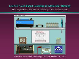 Case It : Case-based Learning in Molecular Biology