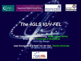 The 4GLS VUV-FEL