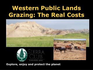 Western Public Lands Grazing: The Real Costs
