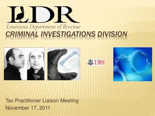 Criminal Investigations Division