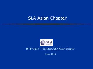 SLA Asian Chapter