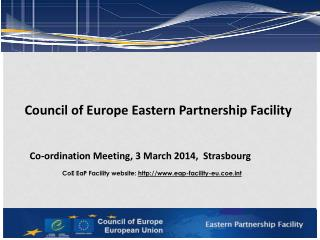Council of Europe  Eastern Partnership Facility