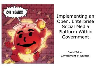 Implementing an Open, Enterprise Social Media Platform Within Government