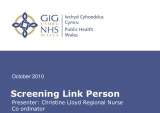 Screening Link Person