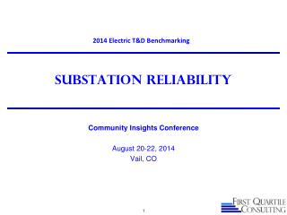 Substation Reliability