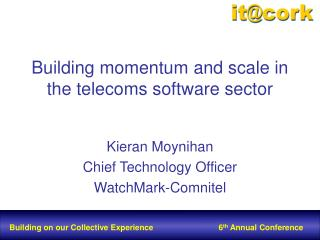 Building momentum and scale in the telecoms software sector