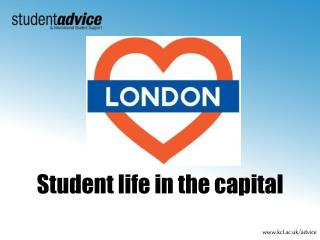 Student life in the capital