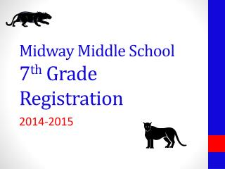 Midway Middle School 7 th  Grade Registration