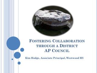 Fostering Collaboration through a District  AP Council