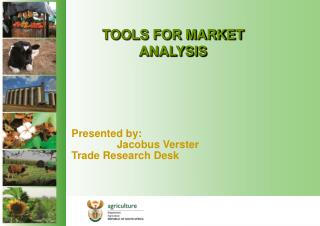 TOOLS FOR MARKET ANALYSIS