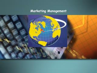 Marketing Management  MODULE D