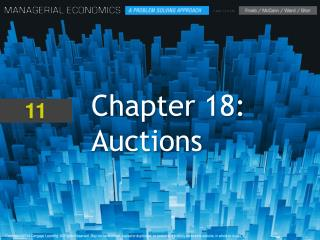 Chapter 18: Auctions