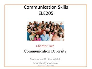 Communication Skills ELE205