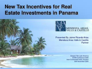 New Tax Incentives for Real Estate Investments in Panama