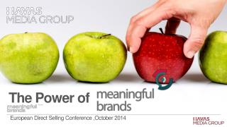 European Direct Selling Conference ,October 2014