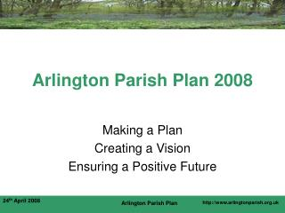 Arlington Parish Plan 2008