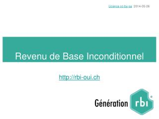Revenu de Base Inconditionnel