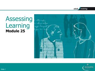 Assessing Learning Module 25