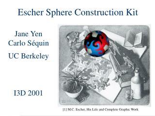 Escher Sphere Construction Kit