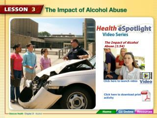 The Impact of Alcohol Abuse (1:54)