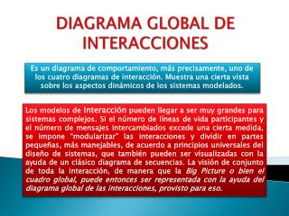 DIAGRAMA GLOBAL DE INTERACCIONES