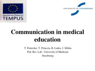 Communication in medical education
