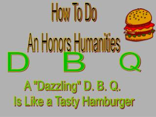 How To Do An Honors Humanities