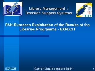 Library Management  / Decision Support Systems