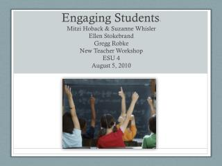 Are Our Students Engaged?