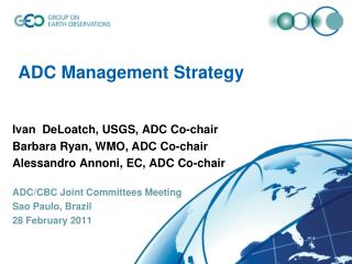 ADC Management Strategy