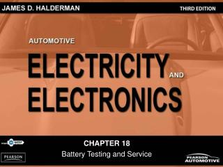 CHAPTER 18 Battery Testing and Service