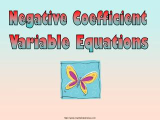 Negative Coefficient