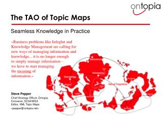 The TAO of Topic Maps
