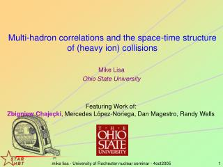 Multi-hadron correlations and the space-time structure of (heavy ion) collisions