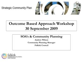 Outcome Based Approach Workshop 30 September 2009
