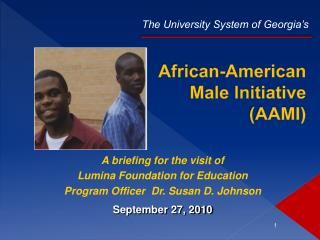 African-American Male Initiative (AAMI)