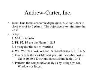 Andrew-Carter, Inc.