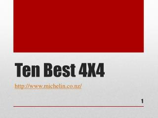 The Best 4x4