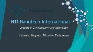 NTI Nanotech International