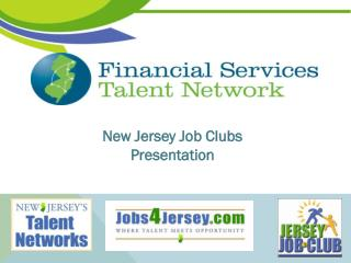 New Jersey Job Clubs Presentation