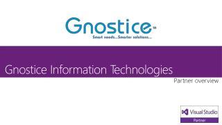 Gnostice Information Technologies