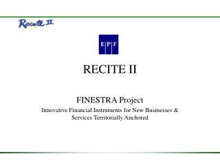 RECITE II